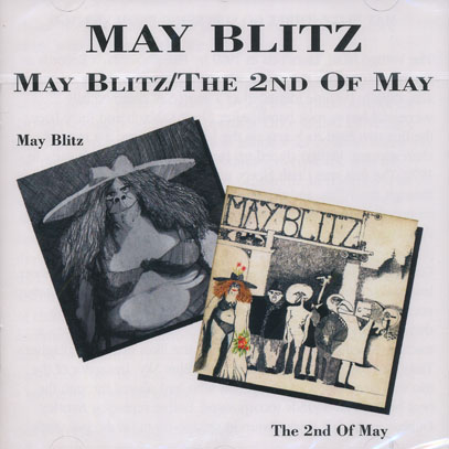 MAY BLITZ/Same + The 2nd Of May (1970+71/1+2th) (メイ・ブリッツ/UK,Canada)