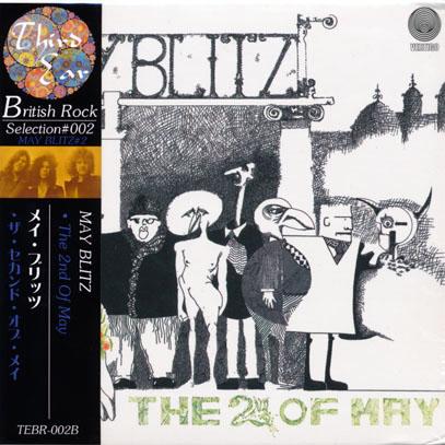 MAY BLITZ/The Second Of May(ザ・セカンド・オブ・メイ) (1971/2nd) (メイ・ブリッツ/UK,Canada)