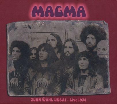 MAGMA/Zuhn Wohl Unsai - Live 1974(2CD) (1974/Live) (マグマ/France)