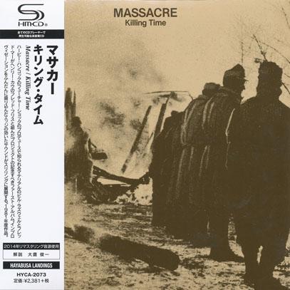 MASSACRE/Killing Time(キリング・タイム) (1981/1st) (マサカー/UK,USA)