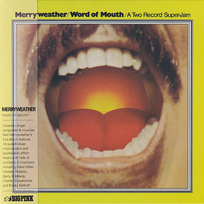 MERRYWEATHER/Word Of Mouth (1969/2nd) (メリーウェザー/USA,Canada)