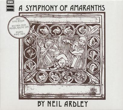 NEIL ARDLEY/A Symphony Of Amaranths (1971/2nd) (ニール・アードレイ/UK)