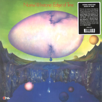 NORMA WINSTONE/Edge Of Time(LP) (1972/1st) (ノーマ・ウインストン/UK)