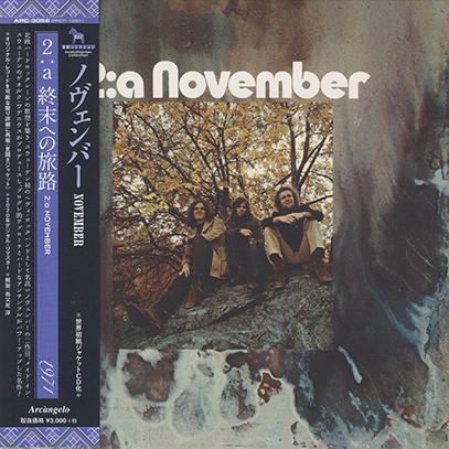 NOVEMBER/2:a(終末への旅路) (1971/2nd) (ノヴェンバー/Sweden)