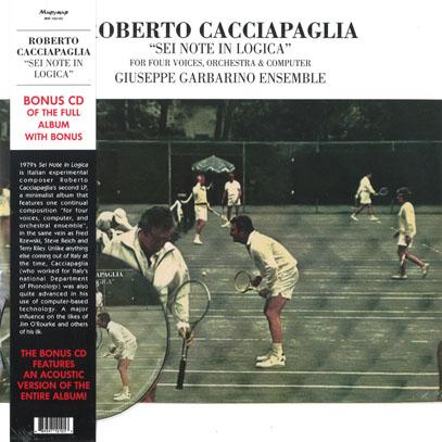 ROBERTO CACCIAPAGLIA/Sei Note In Logica(LP+CD) (1979/2nd) (ロベルト・カッチャパーリア/Italy)