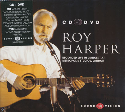 ROY HARPER/Recorded Live In Concert At Metropolis Studios London (2010/CD+DVD) (ロイ・ハーパー/UK)