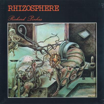 RICHARD PINHAS/Rhizosphere(LP) (1977/1st) (リシャール・ピナス/France)