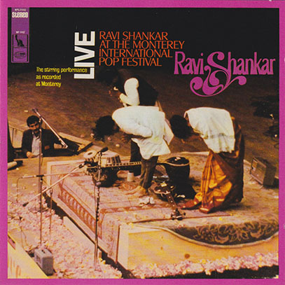 RAVI SHANKAR/At The Monterey International Pop Festival(Used CD) (1967/Live) (ラヴィ・シャンカール/India)