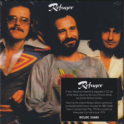 REFUGEE/Same: 3CD Expanded Boxset (1974/only) (レフュジー/UK)