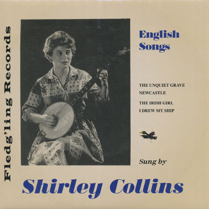 SHIRLEY COLLINS/English Song(7inch EP) (1958/EP) (シャーリー・コリンズ/UK)