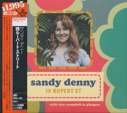 SANDY DENNY/19 Rupert Street(19ルパート・ストリート) (1967/Unreleased) (サンディ・デニー/UK)