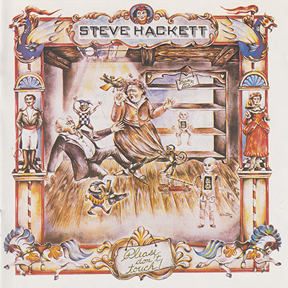 STEVE HACKETT/Please Don't Touch(Used CD) (1978/2nd) (スティーヴ・ハケット/UK)