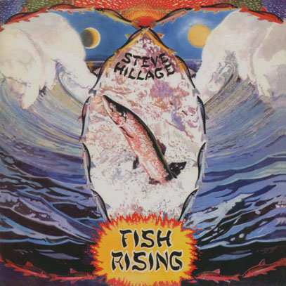 STEVE HILLAGE/Fish Rising (1975/1st) (スティーヴ・ヒレッジ/UK)