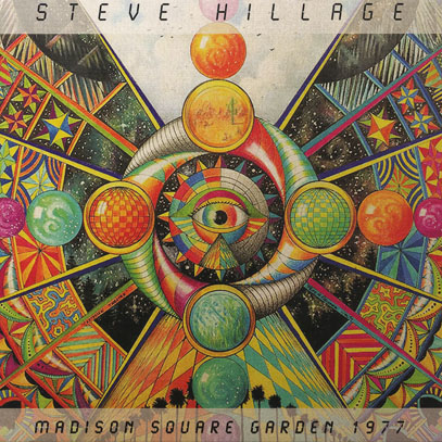 STEVE HILLAGE/Madison Square Garden 1977 (1977/Live) (スティーヴ・ヒレッジ/UK)