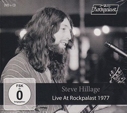 STEVE HILLAGE/Live At Rockpalast 1977(DVD+CD) (1977/Live) (スティーヴ・ヒレッジ/UK)