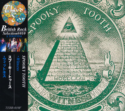 SPOOKY TOOTH/Witness(ウィットネス)(Used CD) (1973/6th) (スプーキー・トゥース/UK)