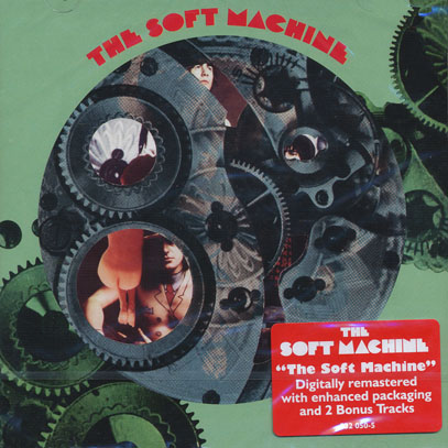 SOFT MACHINE/Volume 1 (1968/1st) (ソフト・マシーン/UK)