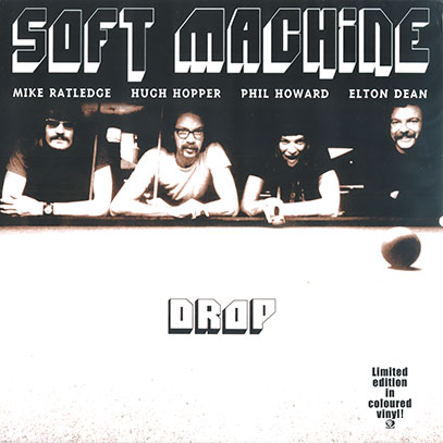 SOFT MACHINE/Drop: 180g Red Colour Vinyl LP (1971/Live) (ソフト・マシーン/UK)