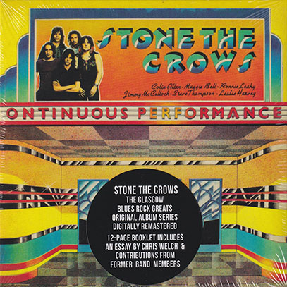 STONE THE CROWS/Ontinuous Performance (1972/4th) (ストーン・ザ・クロウズ/UK)