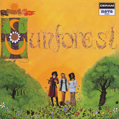 SUNFOREST/Sounds Of Sunforest (1969/only) (サンフォレスト/UK)