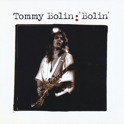 TOMMY BOLIN/Captured Raw(Used CD) (1973-76/Unreleased) (トミー・ボーリン/USA)