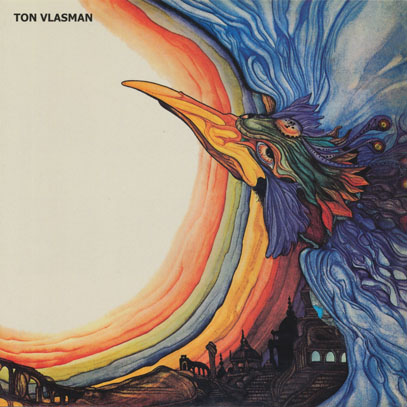 TON VLASMAN/White Rooms With Disintegrating Walls (1970/only) (トン・フラスマン/Holland)