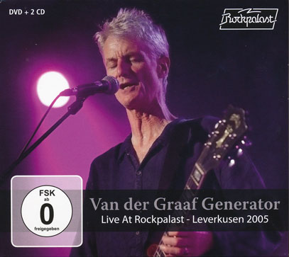 VAN DER GRAAF GENERATOR/Live At Rockpalast 2005(2CD+DVD) (2005/Live) (ヴァン・ダー・グラーフ〜/UK)