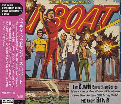 WOODY WOODMANSEY'S U-BOAT/Same(Used CD) (1977/only) (ウッディ・ウッドマンゼイズ・Uボート/UK)