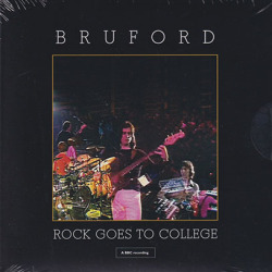 BRUFORD/Rock Goes To Collage(CD+DVD) (1979/Live) (ブルーフォード/UK)