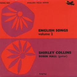 SHIRLEY COLLINS/English Song Volume 2(7inch EP) (1964/EP) (シャーリー・コリンズ/UK)