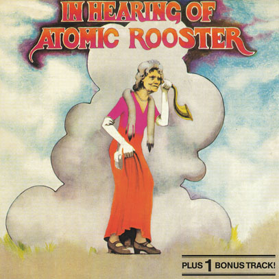 ATOMIC ROOSTER/In Hearing Of(Used CD) (1971/3rd) (アトミック・ルースター/UK)
