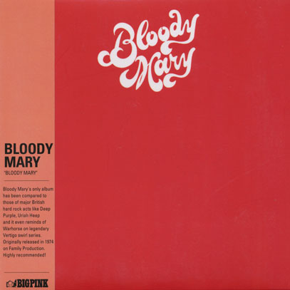 BLOODY MARY/Same (1974/only) (ブラディ・メアリー/USA)