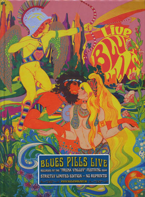 BLUES PILLS/Live: Strictly Limited Edition(Used CD) (2015/Live) (ブルース・ピルズ/USA,Sweden,France)