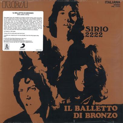IL BALLETTO DI BRONZO/Sirio 2222(LP) (1970/1st) (イル・バレット・ディ・ブロンゾ/Italy)
