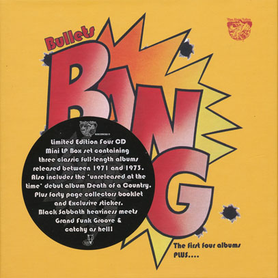 BANG/Bullets: The First 4 Albums Plus(Used 4CD Box) (1971-73/1-3th+Unreleased) (バン/USA)