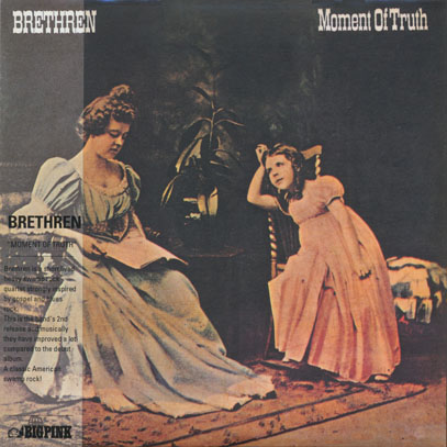 BRETHREN/Moment Of Truth (1971/2nd) (ブレスレン/USA)