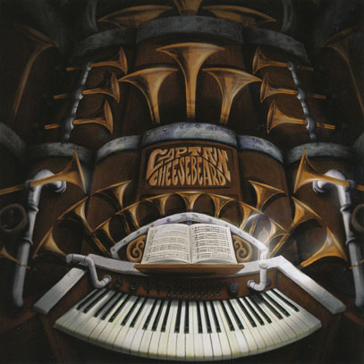 CAPTAIN CHEESE-BEARD/Symphony For Auto Horns (2016/1st) (キャプテン・チーズ・ビアード/Belgium)