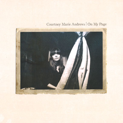 COURTNEY MARIE ANDREWS/On My Page(LP) (2013/5th) (コートニー・マリー・アンドリュース/USA)