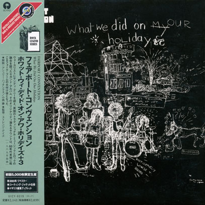 FAIRPORT CONVENTION/What We Did On Our Holiday(ホワット・ウィー~) (1969/2nd) (フェアポート・コンヴェンション/UK)