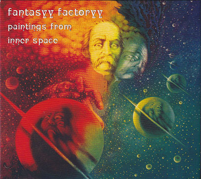 FANTASYY FACTORYY/Paintings From Inner Space(Used CD) (2005/6th) (ファンタジー・ファクトリー/German)