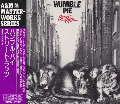 HUMBLE PIE/Street Rats(ストリート・ラッツ)(Used CD) (1975/8th) (ハンブル・パイ/UK)