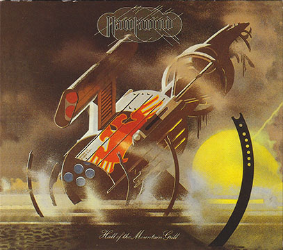 HAWKWIND/Hall Of The Mountain Grill(Used CD/Digi-Pack) (1974/5th) (ホークウインド/UK)