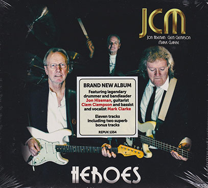 JCM/Heroes (2018/only) (ジョン・ハイズマン/クレム・クレムソン/マーク・クラーク/UK)