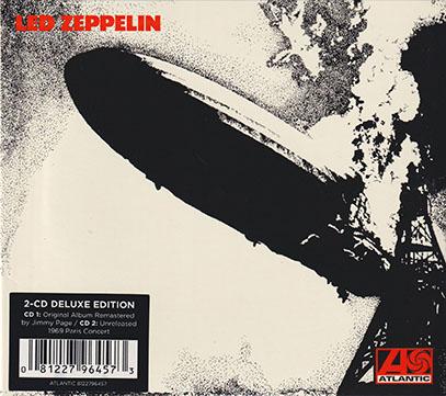 LED ZEPPELIN/I: 2CD Deluxe Edition(Used 2CD) (1969/1st) (レッド・ツェッペリン/UK)