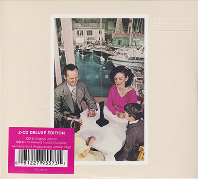 LED ZEPPELIN/Presence:2CD Deluxe Edition(Used 2CD) (1976/7th) (レッド・ツェッペリン/UK)