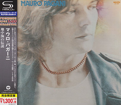 MAURO PAGANI/Same(地中海の伝説)(Used SHM-CD) (1978/1st) (マウロ・パガーニ/Italy)