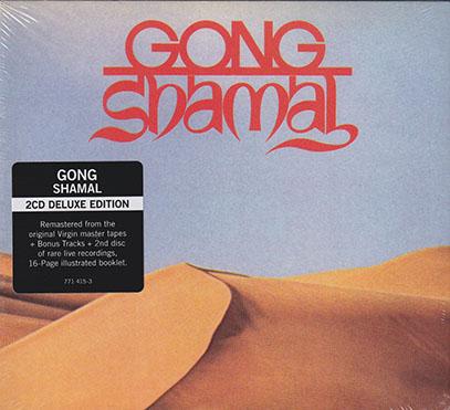 PIERRE MOERLEN'S GONG/Shamal: 2CD Deluxe Edition (1975/1st) (ピエール・ムーランズ・ゴング/France,UK)