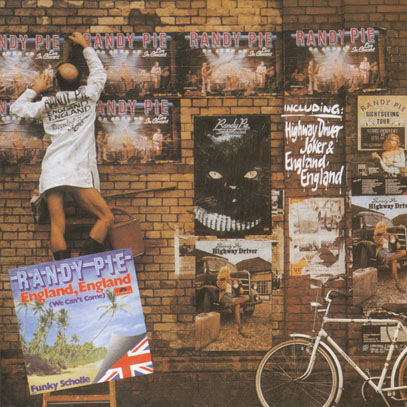 RANDY PIE/England, England (1976/Live) (ランディ・パイ/German)