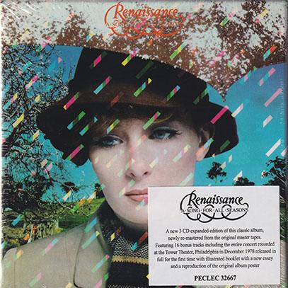 RENAISSANCE(ANNIE HASLAM)/A Song For All Seasons: 3CD Box Edition (1978/6th) (ルネッサンス/UK)