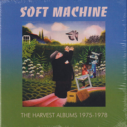 SOFT MACHINE/The Harvest Albums 1975-1978: 3CD Clamshell Box (1975-78/8+9th+Live) (ソフト・マシーン/UK)